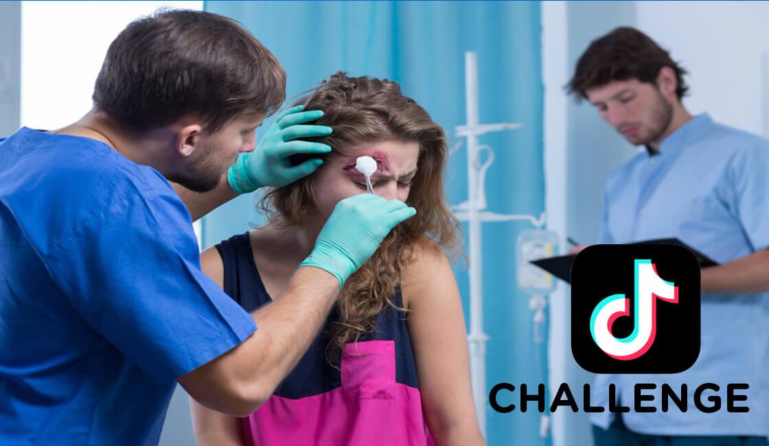TikTok riesgos de retos