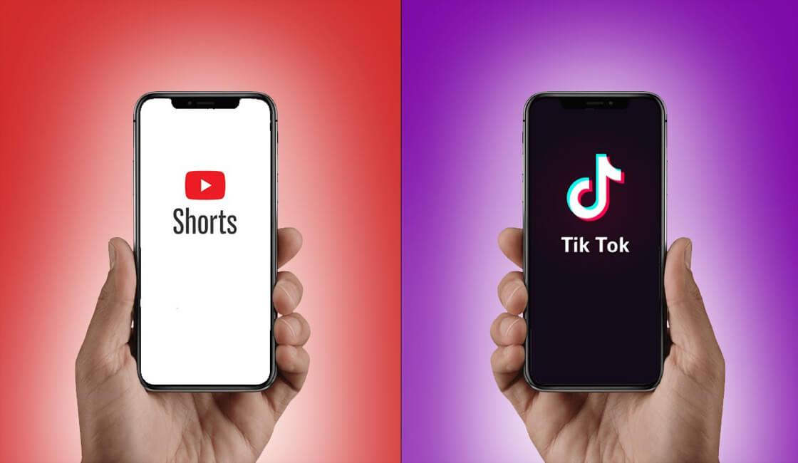 YouTube Shorts batalla con TikTok