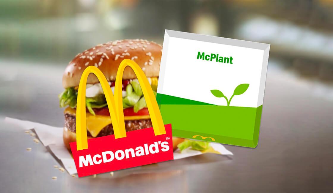 Primera hamburguesa vegana de McDonald's