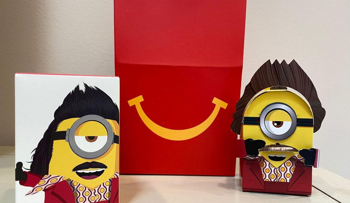 juguetes ecológicos McDonald's cajita feliz