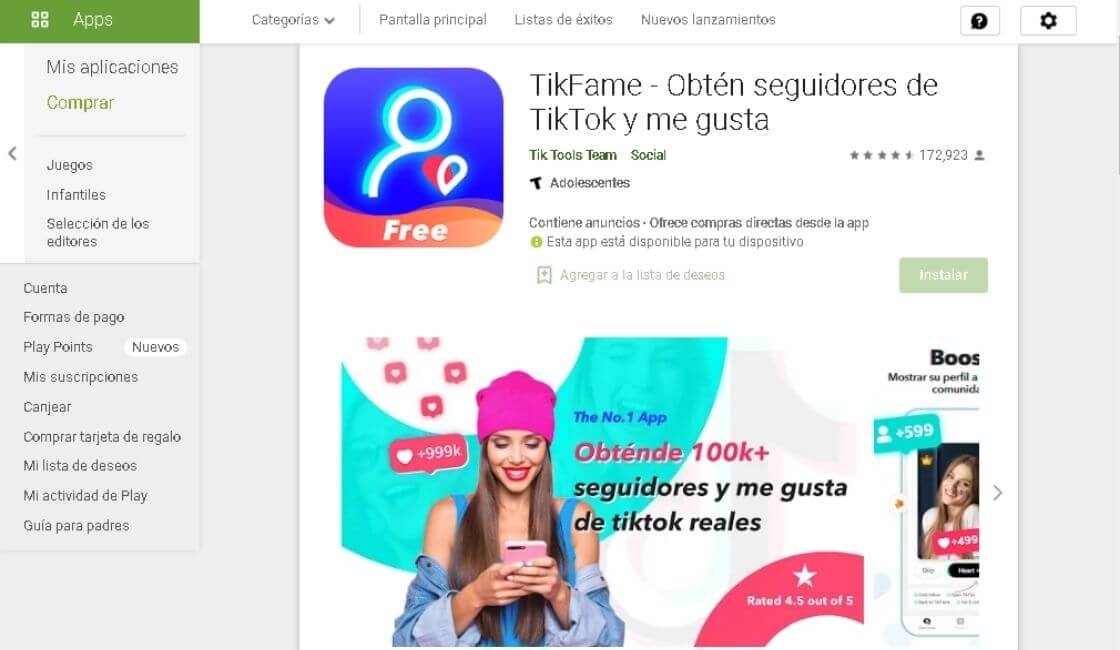 apps para TikTok
