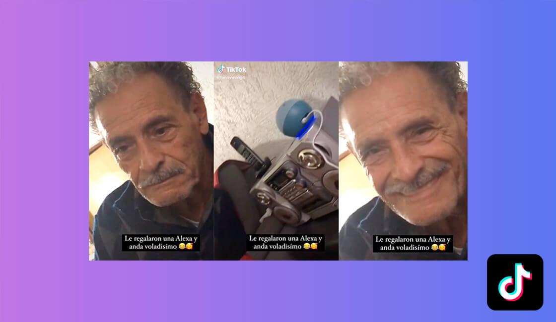 videos TikTok de abuelos