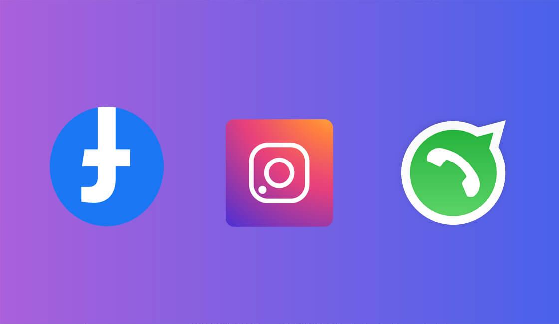 Caida WhatsApp, Facebook e Instagram