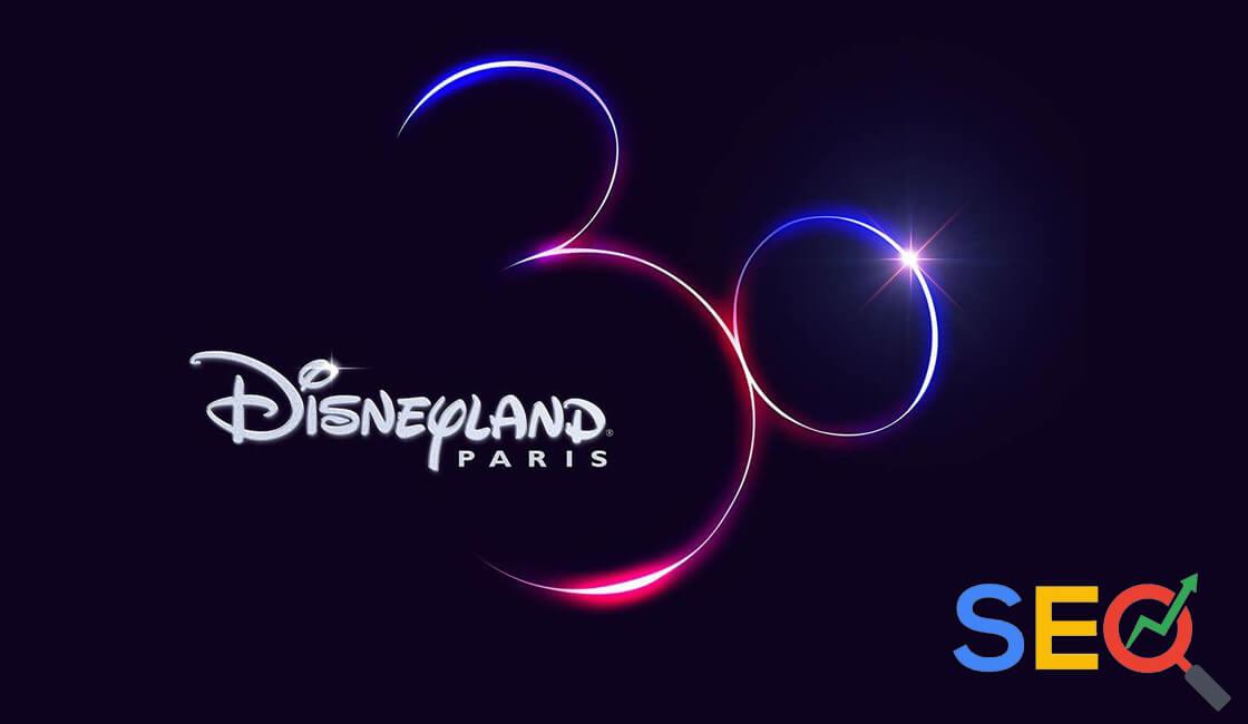 Disneyland Paris posicionamiento SEO