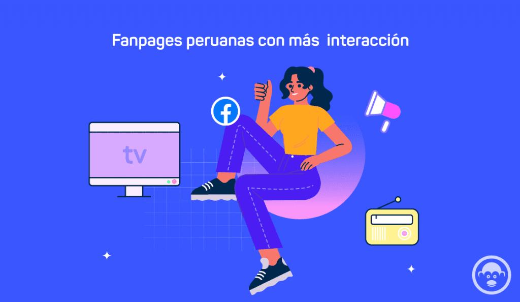 fanpages peruanas mayor interaccion
