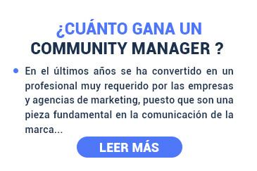 Cuando gana un community manager