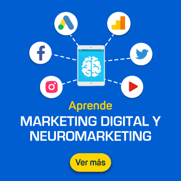 Aprende Marketing Digital y Neuromarketing