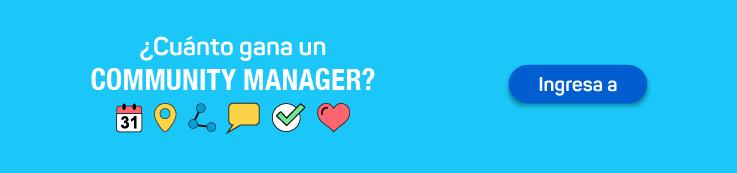 ¿Cuánto gana un Community Manager?
