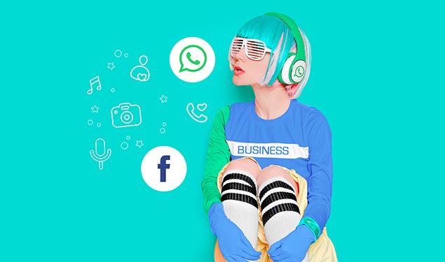 Facebook y WhatsApp para Negocios